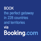 Book you perfect getaway via Booking.com